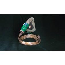 Набор маска - регулируемый клапан Вентури Eco Silente для взрослых с кислородной трубкой