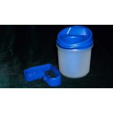 Чашка Provale голубая/прозрачная с дозатором 5 мл