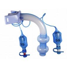 Трахеостомическая трубка 10,0 мм, 15 мм коннектор, с 2-мя манжетами низкого давления высокого объёма (под заказ)