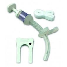 Трахеостомическая трубка 2,5 мм, Bivona FlexTend Plus, без манжеты, педиатрическая, стандартная, прямой фланец (под заказ)